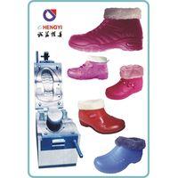 pvc air blowing cotton shoe mould