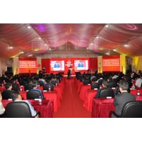 1000 People Big Meeting Party Tent with Roof Lining and Curtains