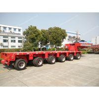 Scheuerle, Hydraulic modular trailer, Multi axle trailer