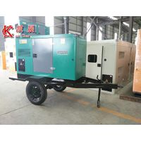 30KW to 50KW trailer diesel generator portable with mobile silent power station