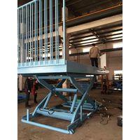 Hydraulic Walking Scissor Car Lift / Scissor X Lift Table