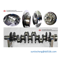 Forged steel Reciprocating Compressor Burckhardt Crankshaft
