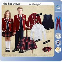 New arrivals custom-made Middle school uniform