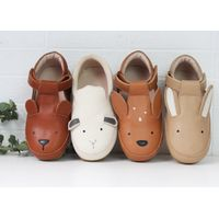 Kids Shoes Soft Genuine Leather Sole Shoes Toddler for Boys and Girls thumbnail image
