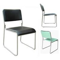 stacking guest chair, reception visitor seat, modern office chair, commercial training furniture