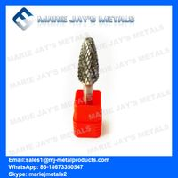 Tungsten carbide rotary file