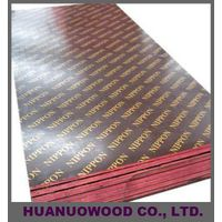 hardwood core black and  brown film faced plywood