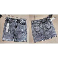Womens Skinny Denim Shorts