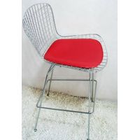 Wire side bar stool