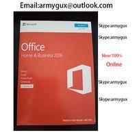 Original Office 2016 Pro Plus Coa Sticker 100% Online License Product
