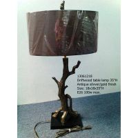 drift wood table lamp 13061218