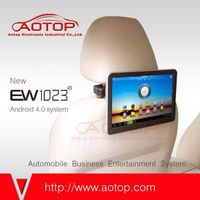 Android headrest LCD Monitor system with wifi and 3G Dongle