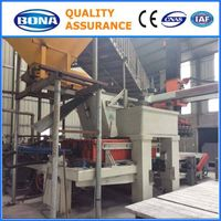 Fly ash high efficiency JYM1280 brick making machine