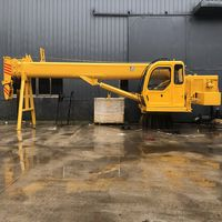 Hydraulic straight arm fixed ship crane