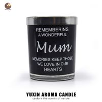 Wholesale Decorative Glass Candle Jar Aroma Scented Candle thumbnail image