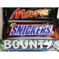 BOUNTY - SNICKERS - MARS - TWIX CHOCOLATES thumbnail image
