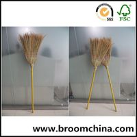 long handle corn grass warehouse broom