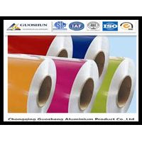 High Quality PE/PVDF Colour coated 1050/1060/1100/3003/5005/5052/5083/3005/8011 Aluminum Coil