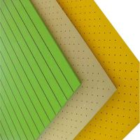 Decorative Wall Board Sound Absorption Polyester Fiber Banquet hall Perforated Acoustic Panel