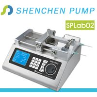 Export new most popular oem cheap double syringe pump
