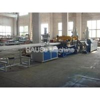 Corrugated Pipe Machinery_UPVC Double Wall Corrugated Pipe Extrusion Line