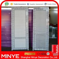PVC doors/entry door PVC shutter door design
