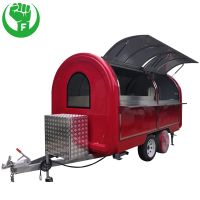 Hamburgers Waffle Carts Food Cart for Sale thumbnail image