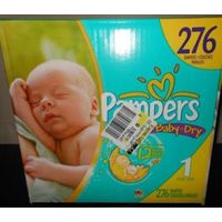 Pampers Baby Dry Diapers Extra Large