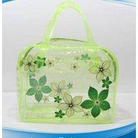High quality wholesale pvc fashion elegant clear makeup bag