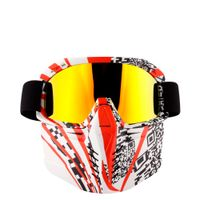 2019 new motorcycle goggles with REVO coating lens