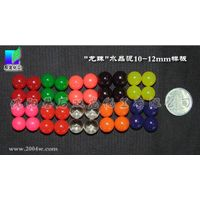 Colorful crystal soil/Round crystal soil/Cubic crystal soil