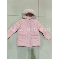 factory price apparel stock children winter parka jacket with best quality