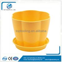 New Round plastic toolingflower pots mould plastic injection mold Shenzhen moulding maker good price