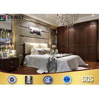 Standard PVC Durable Classical Modern Bedroom Wardrobes for Home, Hotel