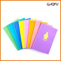 Cartoon stationary a4 cheap agenda organizer planner customised personalized notebook printing