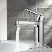 Basin Faucet, Water Tap, Solid Brass, Mixer