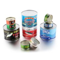 China good price new coming various size brine tuna fish in canned thumbnail image