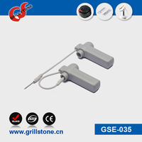 Grillstone security clothing tag 58khz/8.2mhz pencil hard tag with lanyard