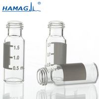 High quality manufacturing 2ml 9-425 screw clear glass chromatography HPLC vial