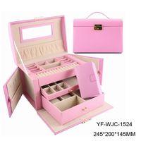 jewelry box,leather box,jewelry case,gift box,MDF box