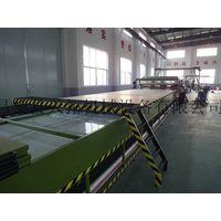FRP carriage plate making machine