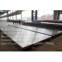 ASME steel clad plate