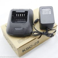 KSC-25 Battery Charger for Kenwood two way Radio TK-2140 TK-3140 TK-2160 TK-3160