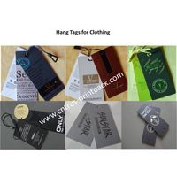 Garment Hang Tag With Strings thumbnail image