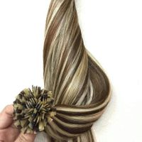 Type 1 F-tip Hair Extension Best Sell 2-tones Colors Ombre Top Quality Very Silky