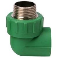 ppr male elbow hard copper thread tubing fittings