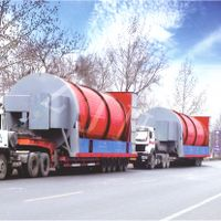 ZJN Rotary cylinder dryer for oil industries solid waste drying