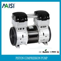 220v ac silent piston air pump compressor pump
