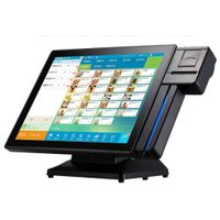 15 Inch POS System/POS Machine with 58mm printer and card reader DCA154W