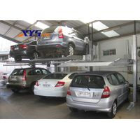 Popular double 2 post hydraulic car parking lift with CE